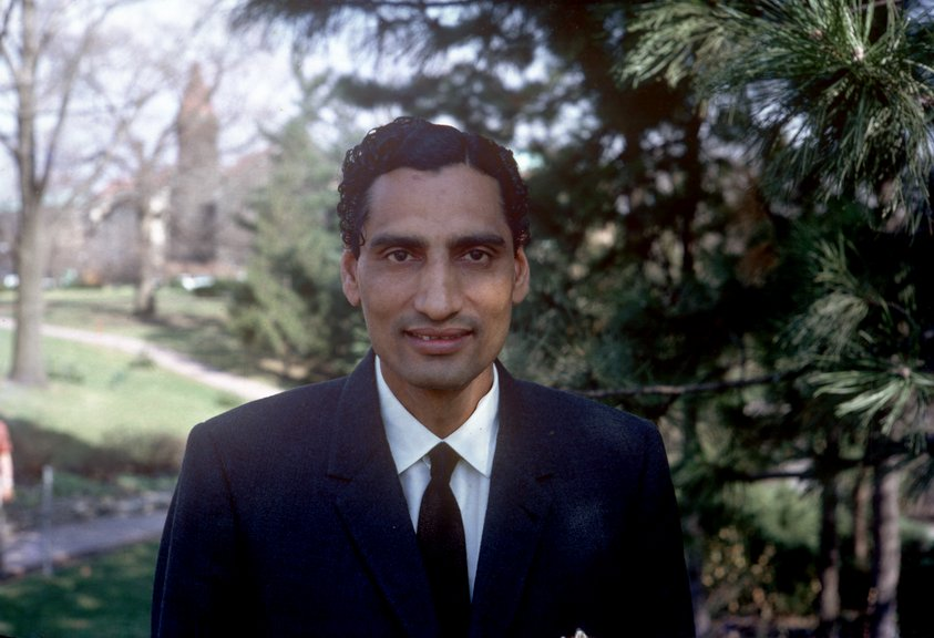 Dr. Kanwar at Ohio State University as a Ph D Student